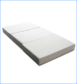 2. Milliard 6-Inch Memory Foam Tri-fold Mattress