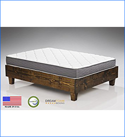 4. Dreamfoam Bedding Spring Dreams Mattress