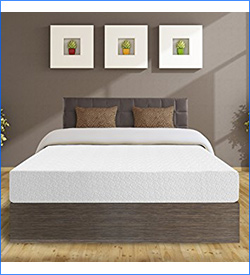 6. Best Price Mattress 10-Inch Memory Foam Mattress