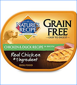 6. Natures Recipe Easy to Digest Chicken and Duck Recipe