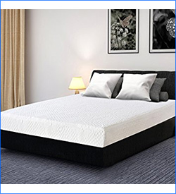 7. Olee Sleep 9 Inch I-gel Multi-Layered Memory Foam Mattress