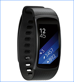 7. Samsung Gear Fit2 Smartwatch