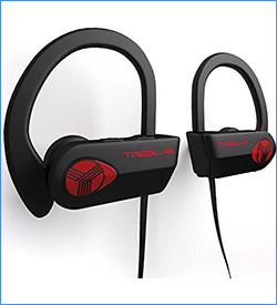 8. TREBLAB Bluetooth Headphones