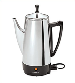 2. Presto 12-Cup Coffee Maker