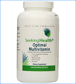 10. Seeking Health Optimal Multivitamin