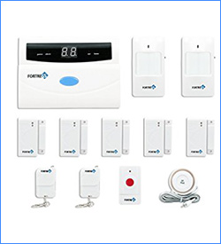 3. Fortress Security Store Wireless Security Alarm