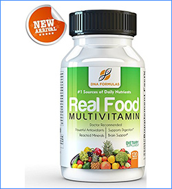 7. DNA Formulas Whole Food Multivitamin