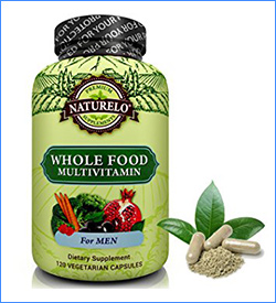 9. NATURELO Whole Food Multivitamin