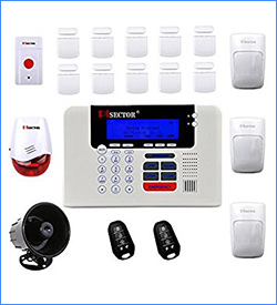 9. PisectorWireless Home Security Alarm System