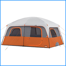 Straight wall 10 person Cabin tent