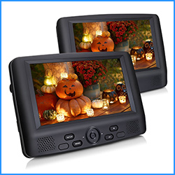 Cutrip Dual screen portable DVD player