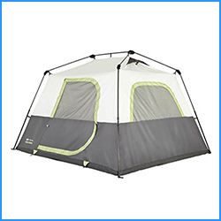 Instant cabin 6 tent with fly