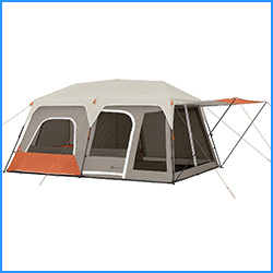 best members mark 10 person instant cabin tents