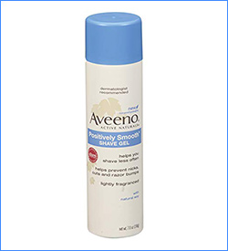 Best aveeno positively smooth moisturizing Women's Shaving Cream